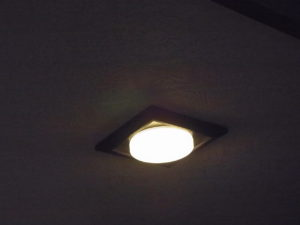 愛知県名古屋市角型LEDダウンライト取替工事【さつき電気商会】