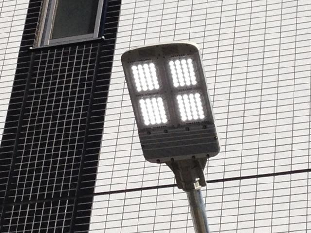 名古屋市名東区 LED外灯取替工事