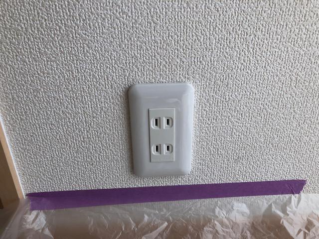 愛知県あま市コンセント電気工事