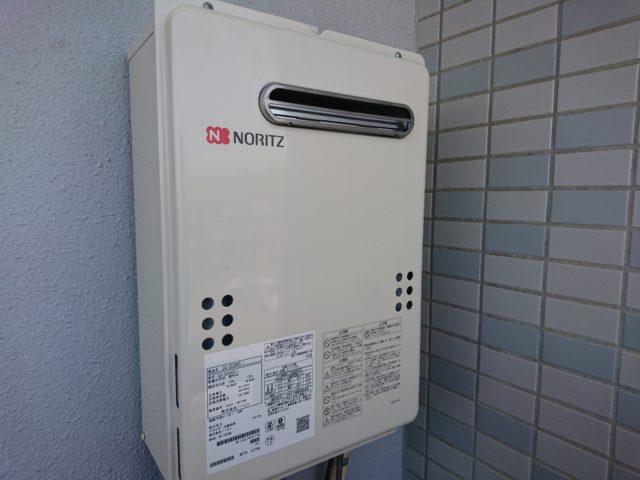 愛知県名古屋市名東区ノーリツガス給湯器GQ-2039WS-1工事