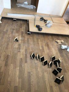 東京都荒川区マンション床リフォーム置床工事