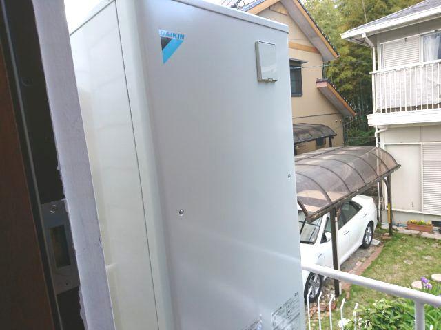 愛知県日進市ダイキンエコキュートEQ37UV工事