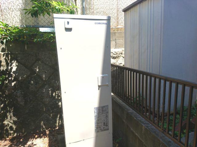 愛知県名古屋市天白区コロナ電気温水器UWH-37X1SA2U工事