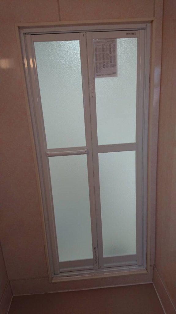 愛知県一宮市浴室ドアのリフォーム工事