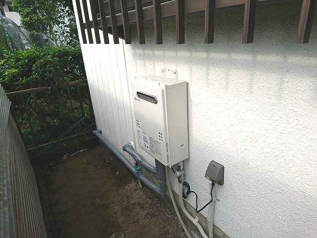 愛知県春日井市ノーリツガス給湯器GQ-2039WS-1工事