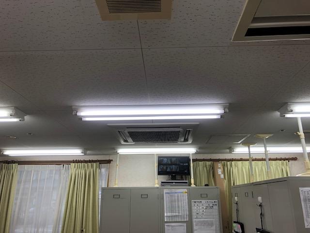 愛知県名古屋市西区照明器具・安定器の電気工事