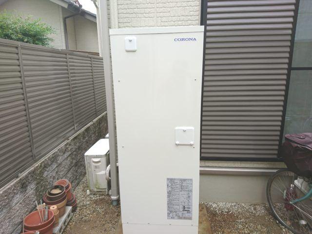 愛知県小牧市 電気温水器取替工事 コロナUWH-37X1A2U