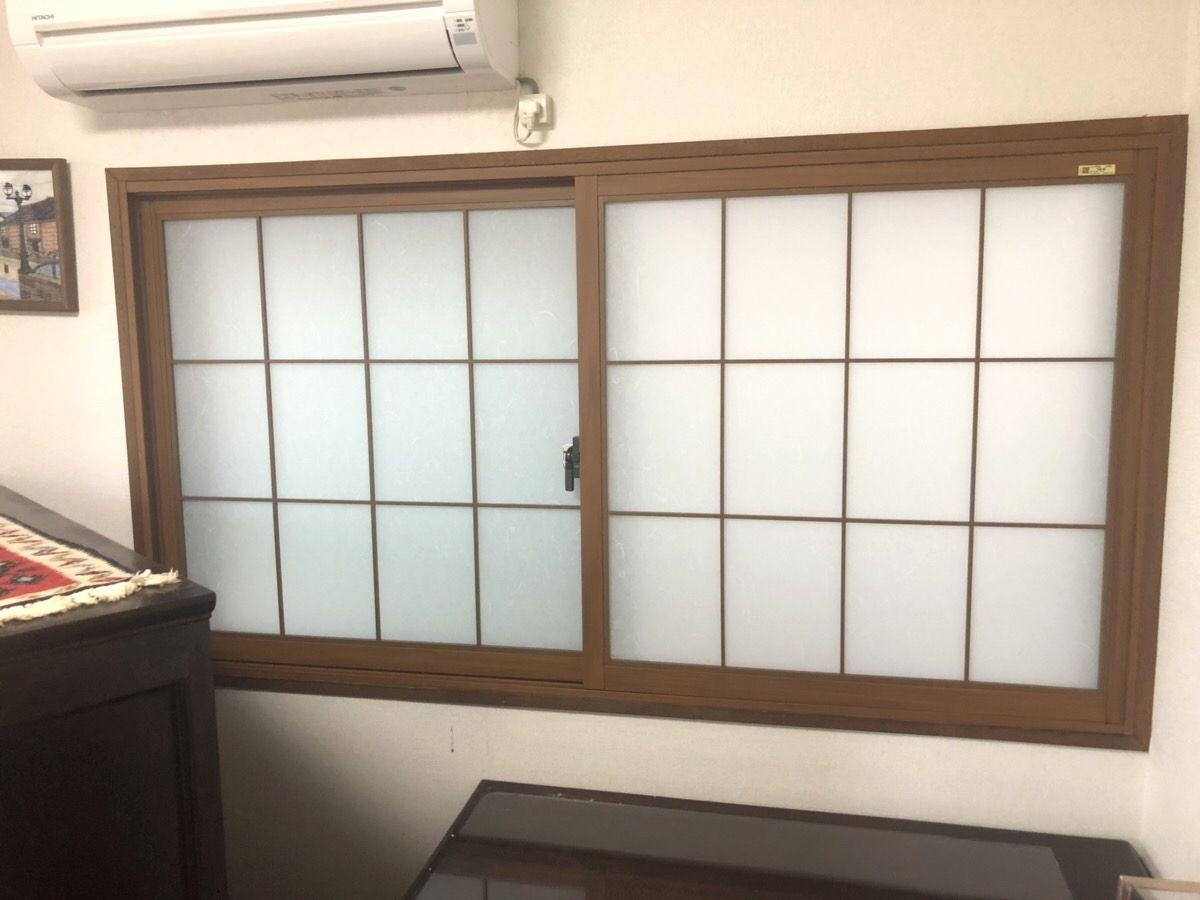 愛知県名古屋市西区LIXIL内窓インプラス工事