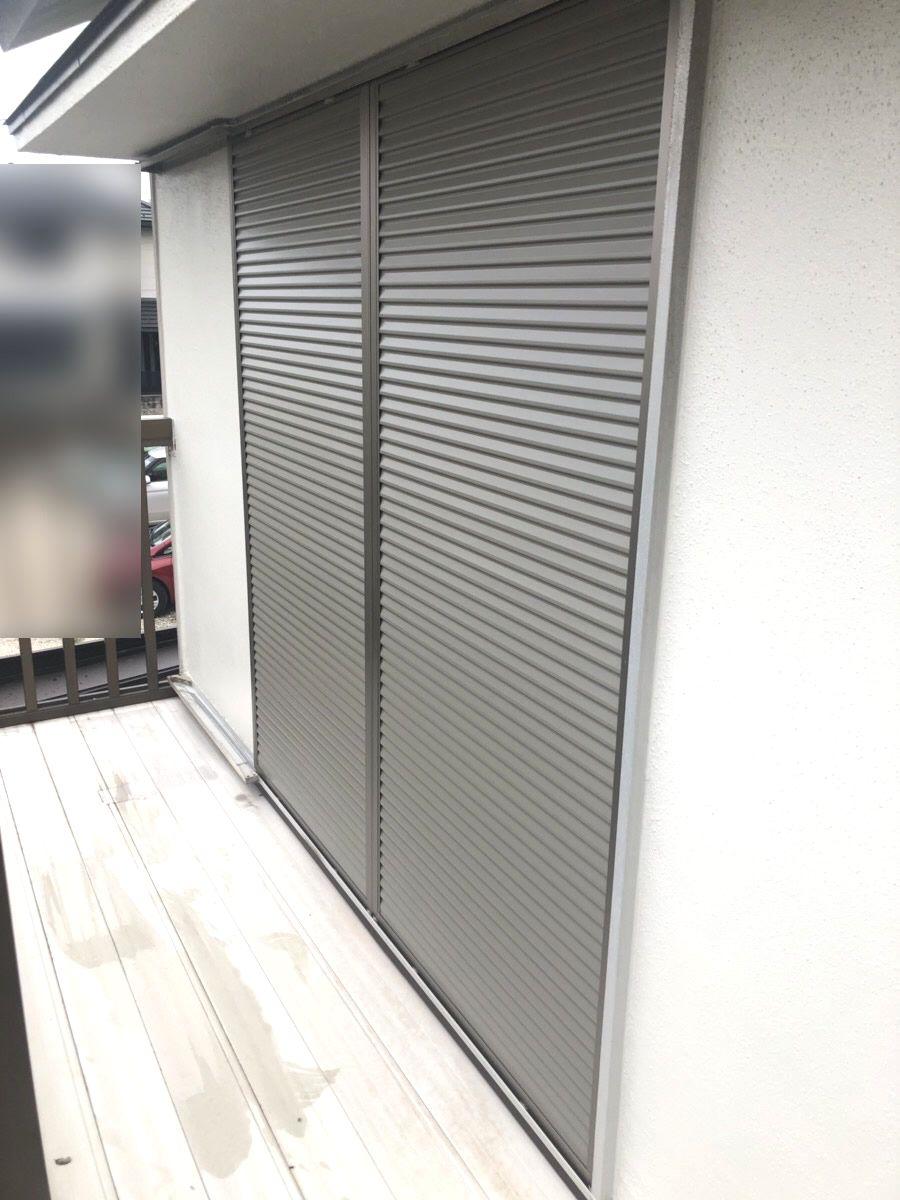 名古屋市緑区LIXIL取替用雨戸リフォーム工事