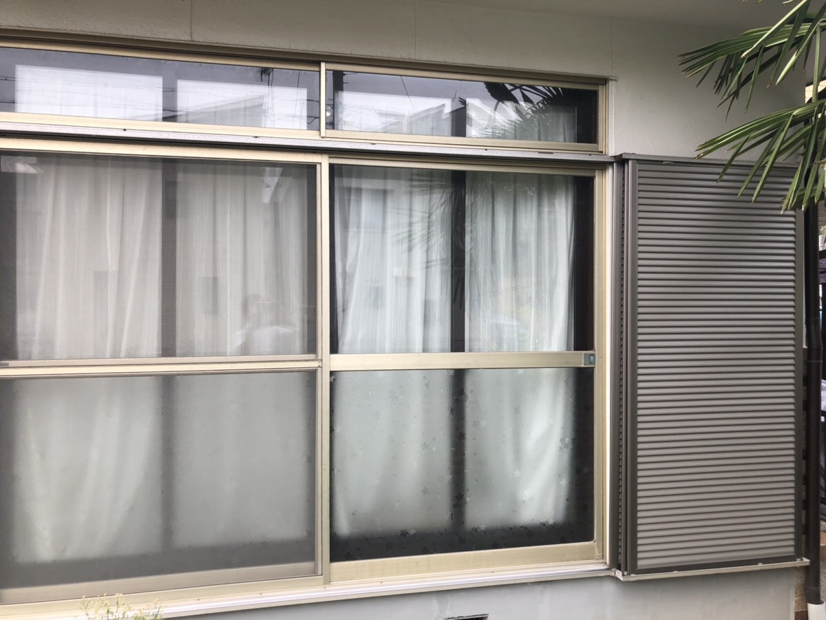 名古屋市緑区 雨戸リフォーム工事(LIXIL取替用雨戸)