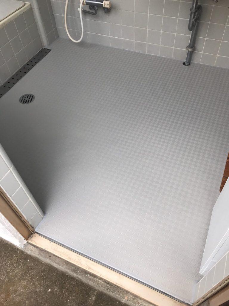 神奈川県海老名市にて浴室床フクビあんからリフォーム