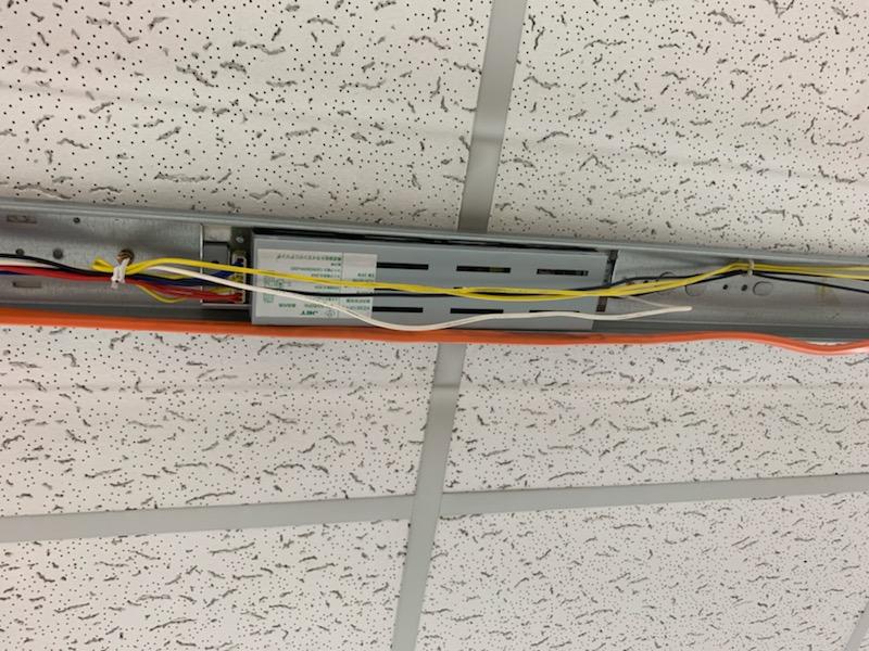 名古屋市中川区照明器具安定器の電気工事