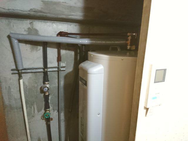 名古屋市昭和区三菱電機電気温水器SRG-375G