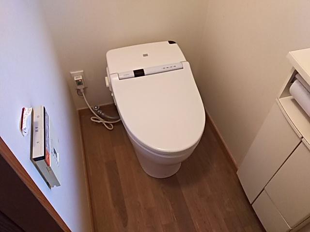 東京都府中市TOTO GG1トイレ工事