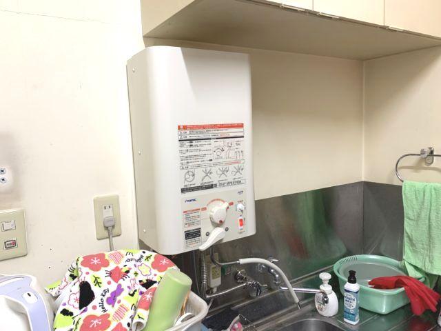 名古屋市守山区イトミック小型電気温水器EWM-14