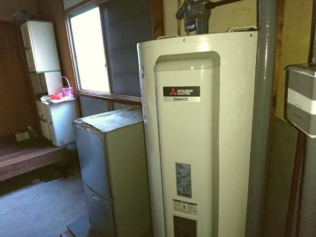 愛知県愛西市三菱電機電気温水器SRG-375G工事店【アンシンサービス24】
