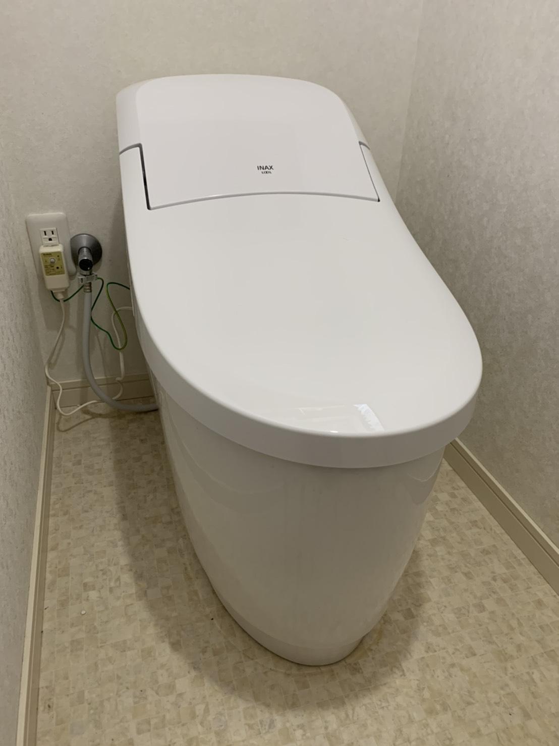 愛知県豊明市 トイレ改修工事 LIXILプレアスLS