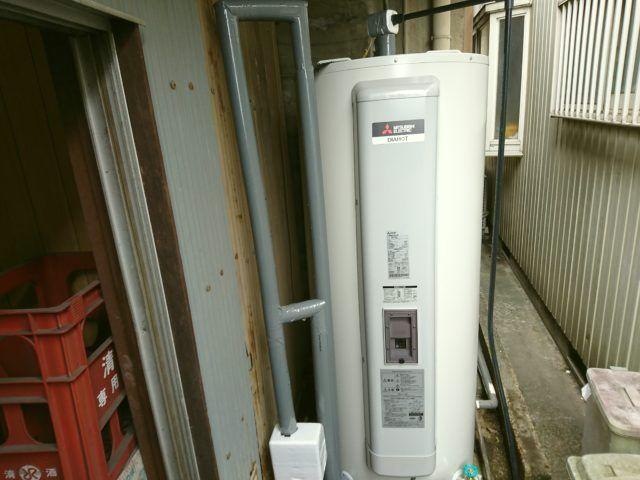 三重県桑名市三菱電機電気温水器SRG-375G工事店【アンシンサービス24】