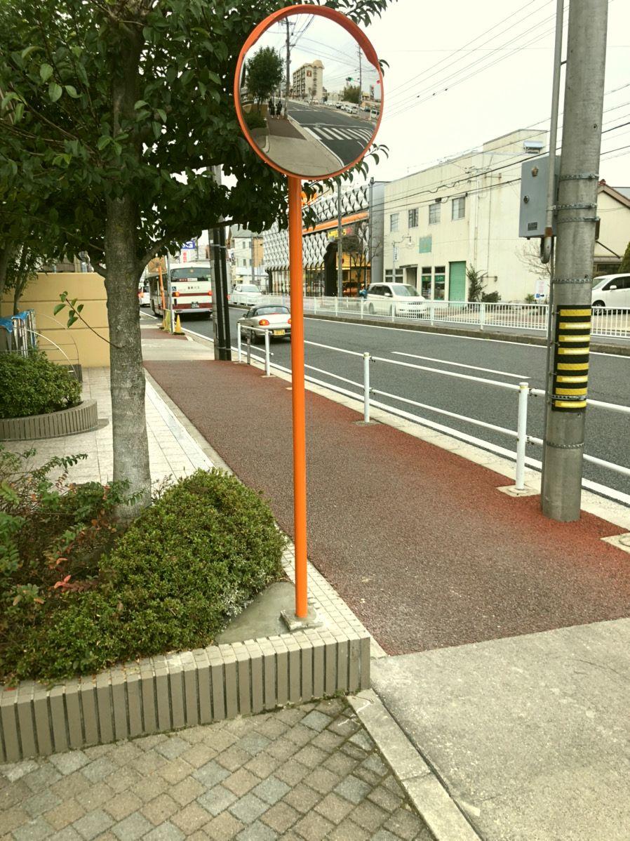 【エクステリア工事】マンションのカーブミラー取付工事 名古屋市守山区