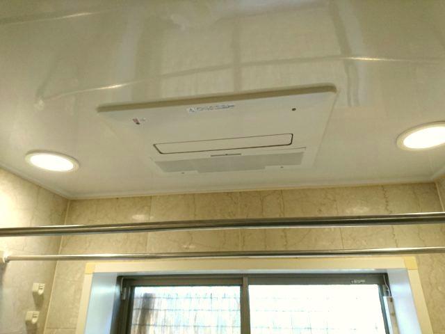 名古屋市名東区 浴室暖房乾燥機取替工事 ノーリツBDV-4104AUKNC-J2-BL