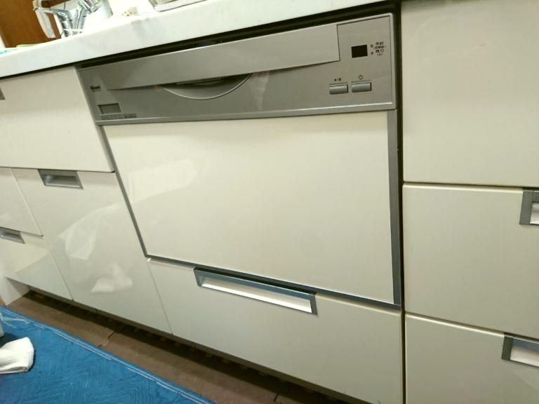 滋賀県長浜市リンナイ食洗機RSW-601C-SV工事店【アンシンサービス24】