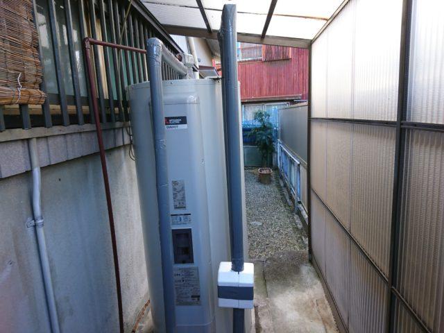 愛知県半田市三菱電機電気温水器SRG-375G工事店【アンシンサービス24】