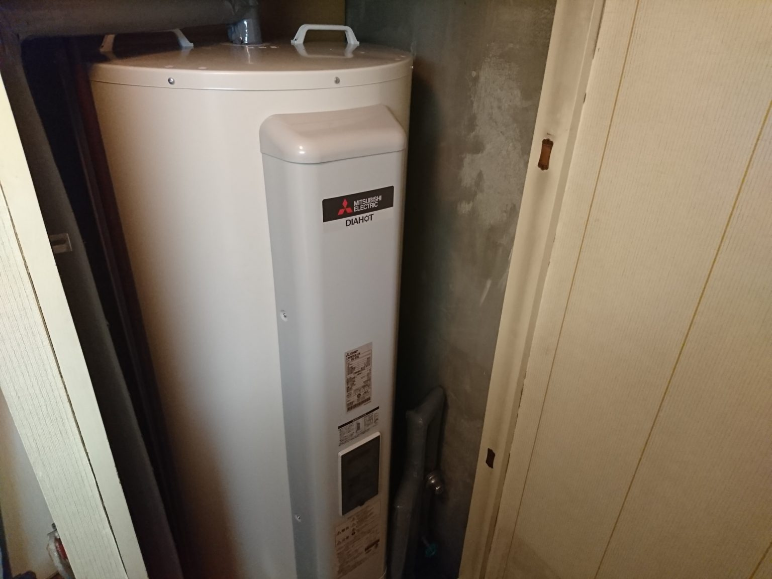 名古屋市中区三菱電機電気温水器SRG-375G工事店【アンシンサービス24】