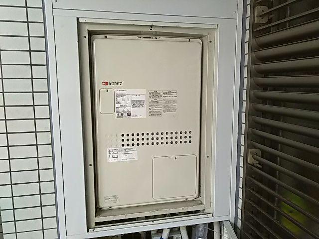 埼玉県川口市 ガス温水暖房付ふろ給湯器交換工事ノーリツGTH-2444AWX6H-T-1BL