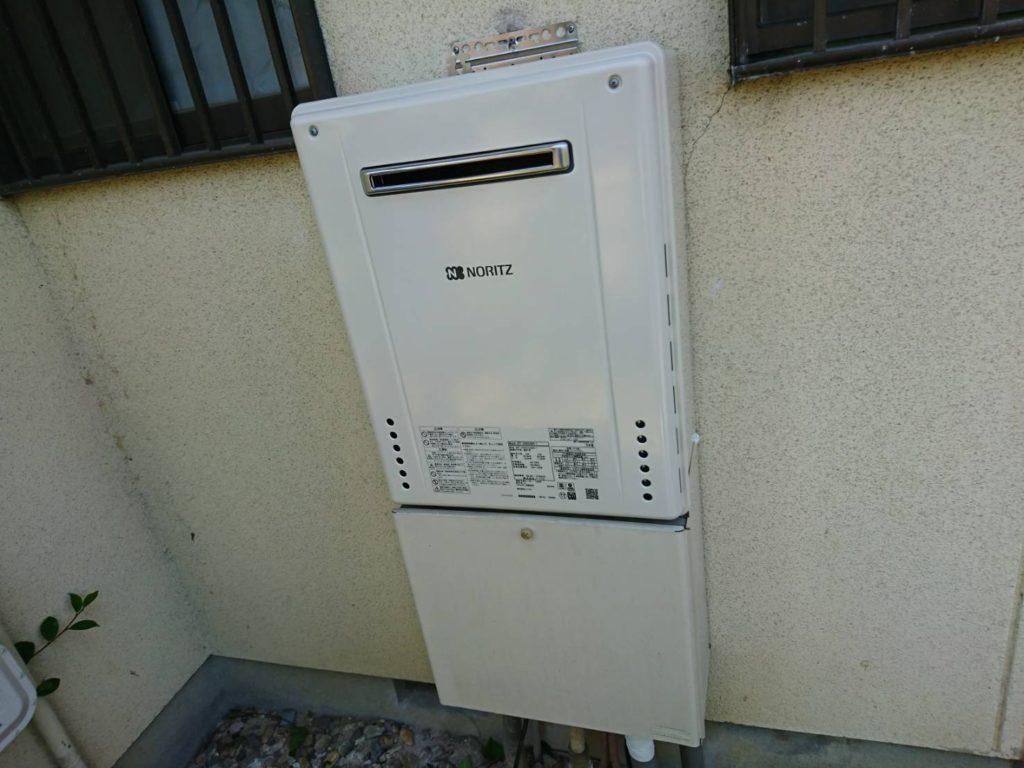 愛知県春日井市ガス給湯器取替工事ノーリツSRT-2460SAWX-1BL