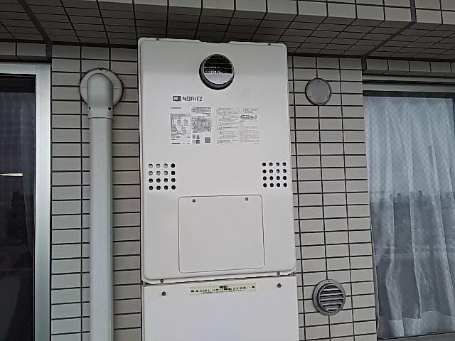 東京都墨田区ガス給湯暖房熱源機湯交換工事ノーリツGTH-C2461SAW3HBL