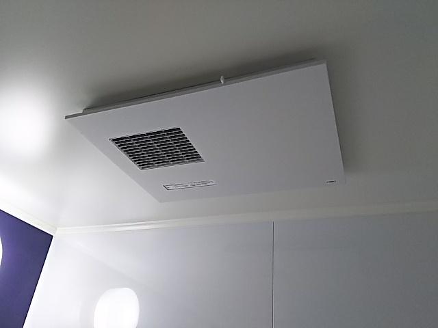 東京都目黒区浴室暖房乾燥機交換工事TOTO TYB3111GAR