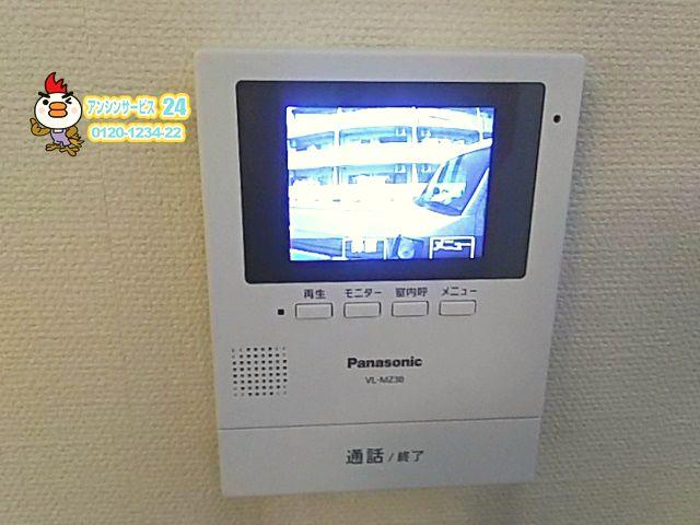 東京都葛飾区テレビドアホン交換工事パナソニックVL-SZ30KL