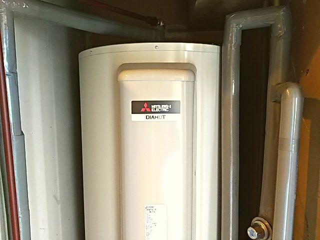 東京都中央区電気温水器交換工事三菱電機SRG-375G