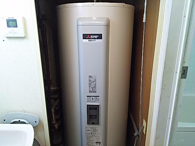 千葉県習志野市電気温水器交換工事三菱電機SRG-465G