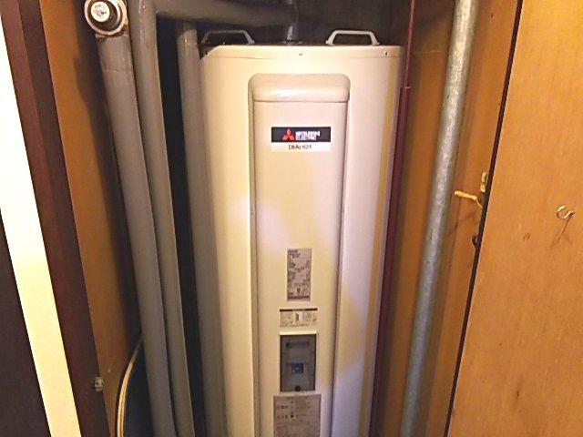 東京都品川区電気温水器交換工事三菱電機SRG-375G