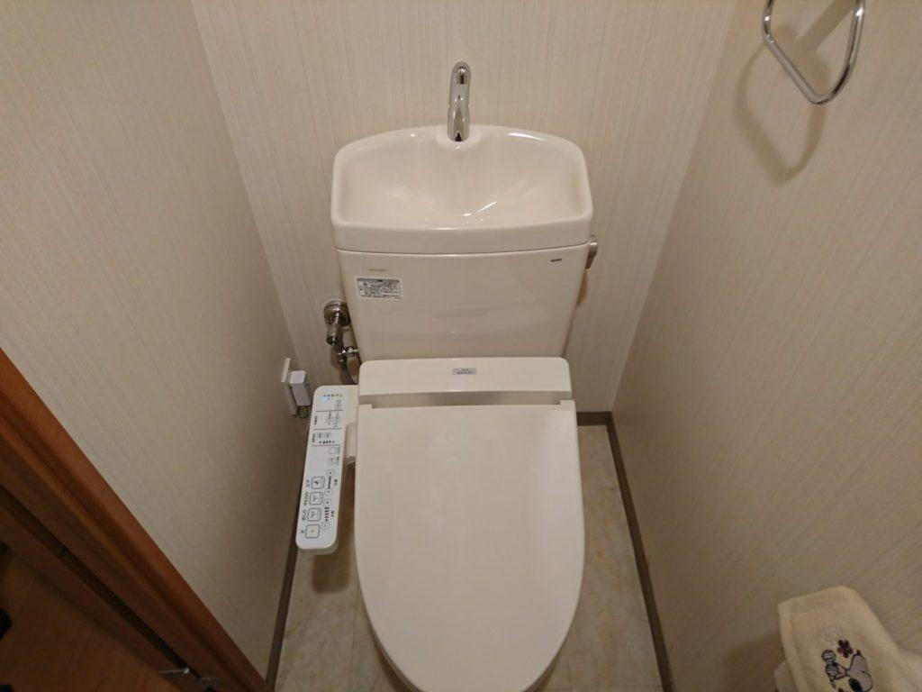 名古屋市瑞穂区 トイレ取替工事 TOTOピュアレストQR ウォシュレットSB