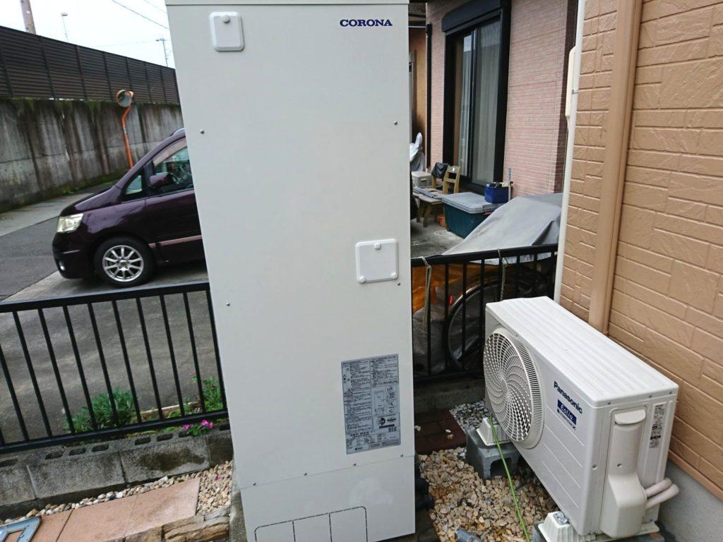 静岡県静岡市CORONA製品電気温水器UWH-37X1SA2U工事店【アンシンサービス24】