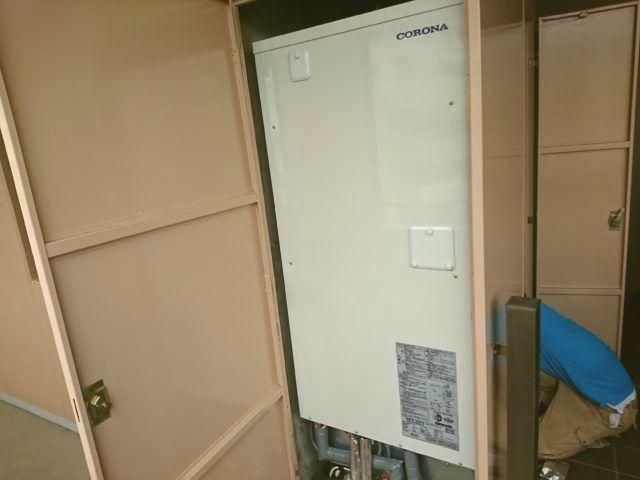 名古屋市港区 電気温水器取替工事 CORONA UWH-46X2A2U-2