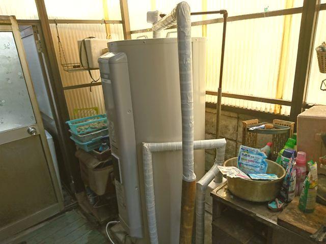 京都府京都市西京区三菱電機電気温水器SRG-375G