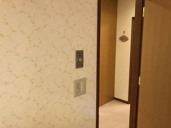 名古屋市中区空調機ファンコイル・リモコン取替の電気工事