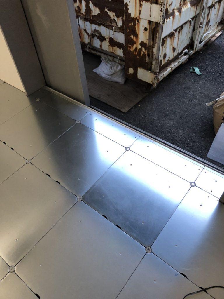 東京都渋谷区フクビFP3000・OAフロア工事