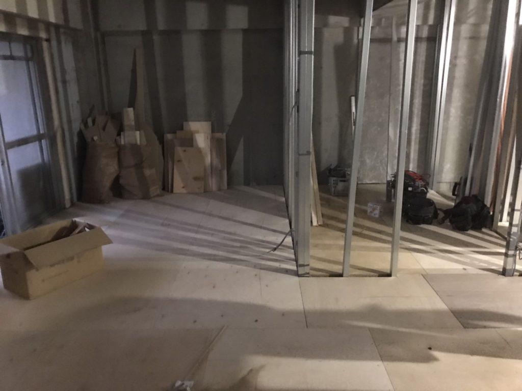 神奈川県川崎市フクビフリーフロアCPマンション置床工事