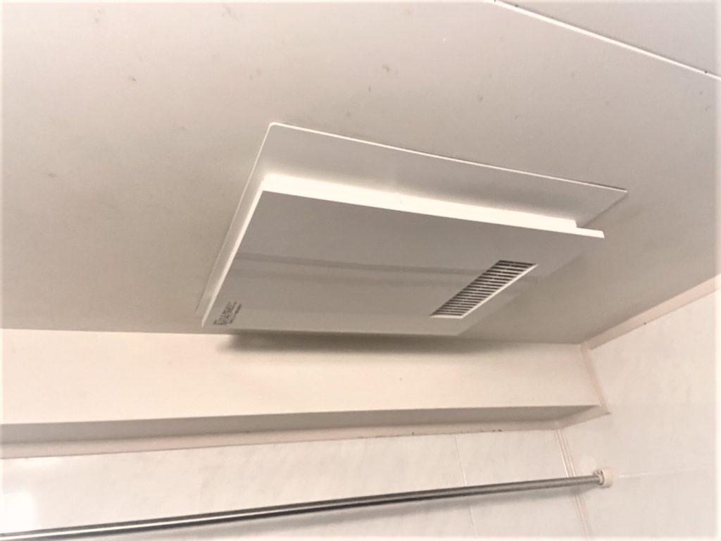 愛知県岡崎市三菱電機浴室乾燥暖房機V-141BZ工事店