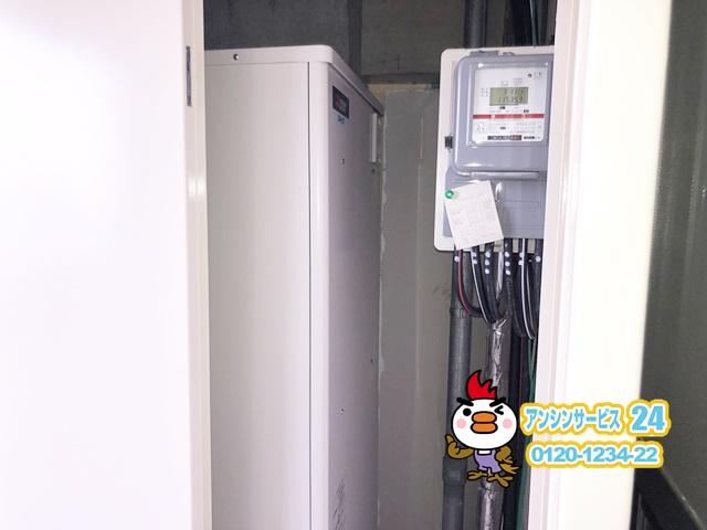 静岡県浜松市 電気温水器取替工事 三菱電機SRT-J37WD5