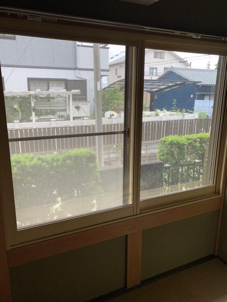 愛知県大府市大信工業プラスト+日本板硝子ソノグラス内窓工事