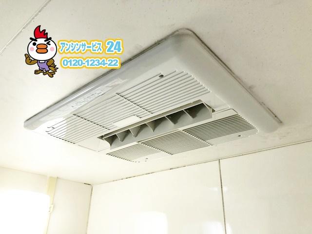 愛知県東海市ノーリツ浴室暖房乾燥機BDV3302UKNC-DA-BL工事
