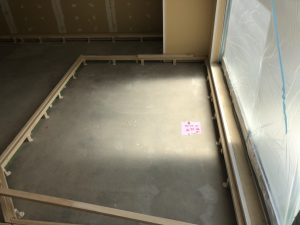 東京都八王子市マンション置床工事 フリーフロアCP