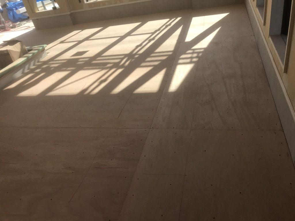千葉県木更津市にてオフィスの置床工事