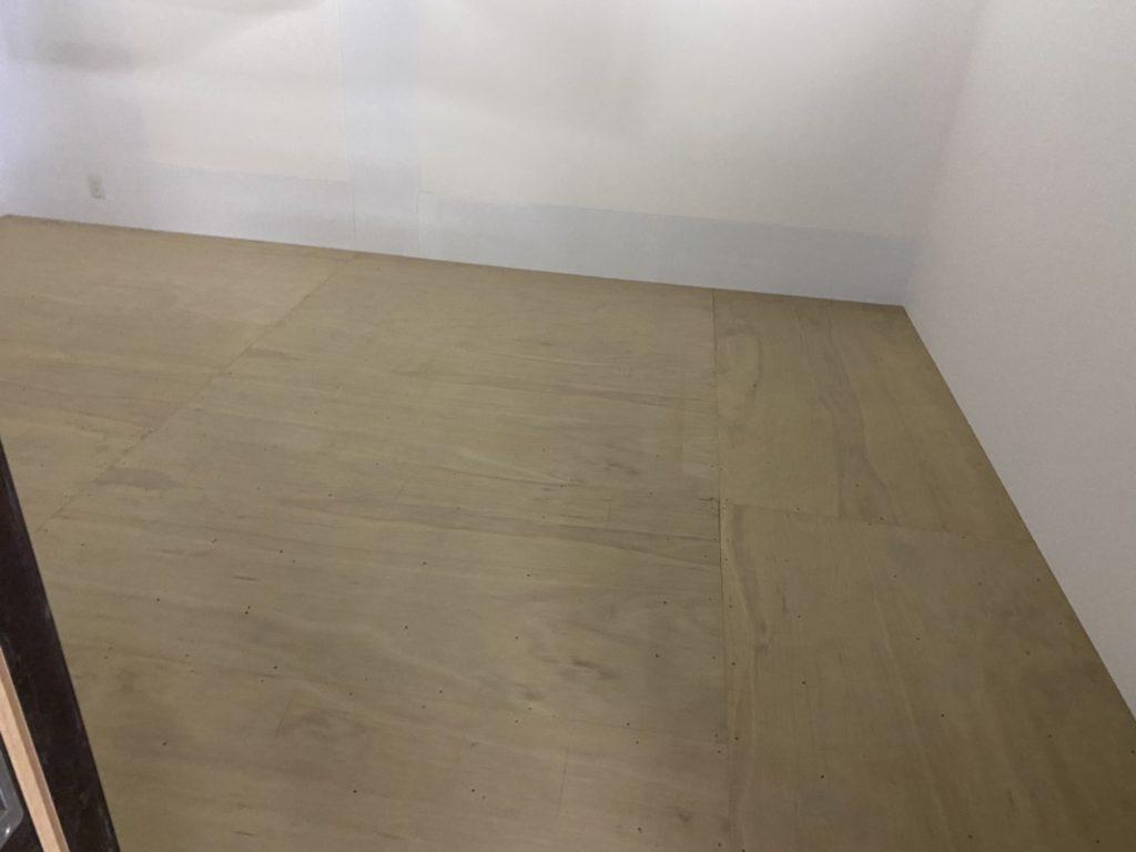 千葉県富里市にてビルテナントのリフォームおよび置床工事