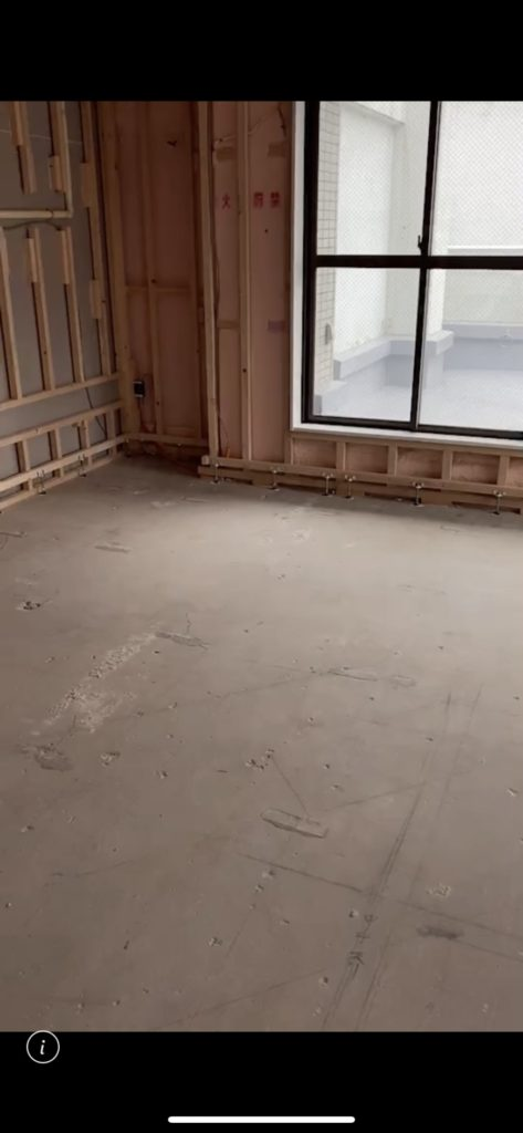 東京都千代田区にてマンション改修に伴う置床工事